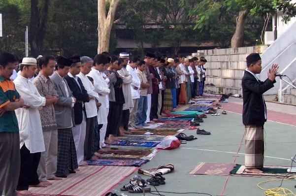 Bacaan Niat dan Tata Cara Sholat Id Hari Raya Idul Fitri