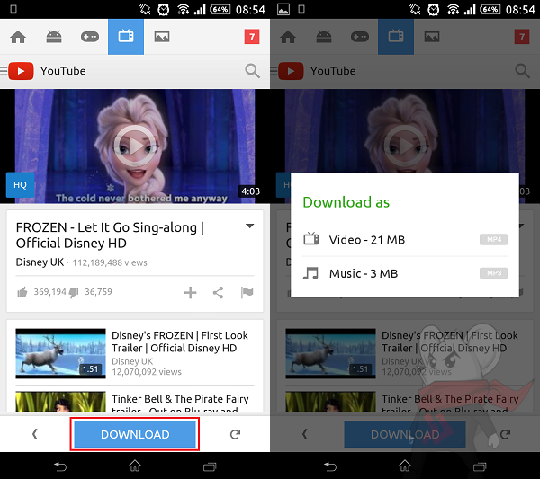 Cara Download YouTube di Android 3