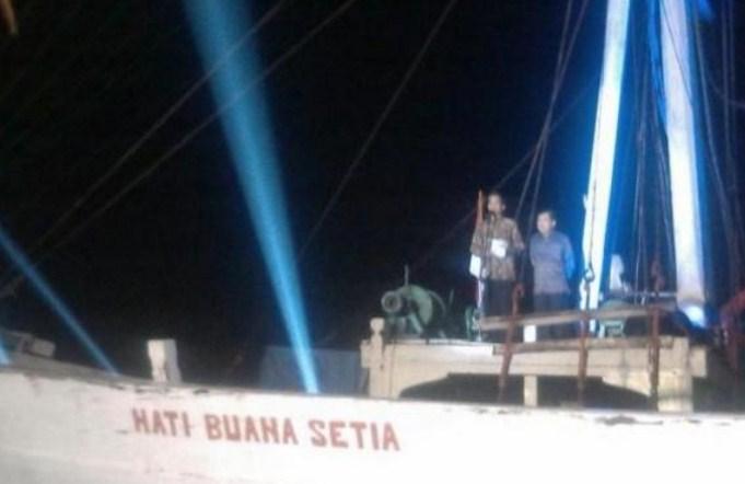 Inilah Alasan Pidato Kemenangan Jokowi Dilakukan Di Kapal Pinisi