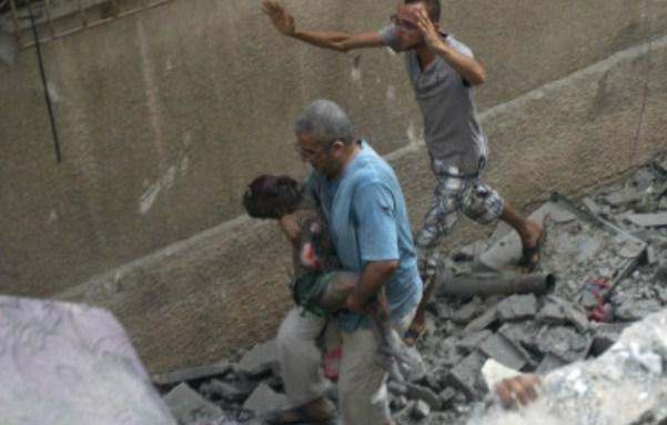 Korban Tewas di Gaza Total Sudah 631 Jiwa