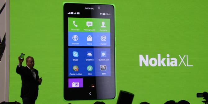 Harga Nokia XL Android Turun Kini Hanya Rp 18 Jutaan