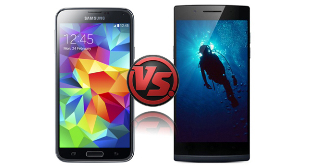 Oppo Find 7 Vs Samsung Galaxy S5