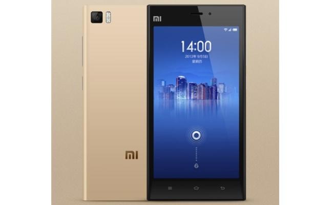 Xiaomi Mi3 Gold