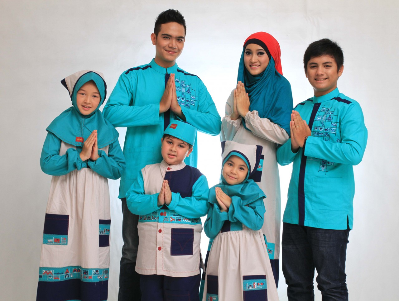 model-baju-gamis-lebaran-2014-untuk-keluarga