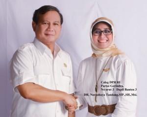Biodata Nurcahaya Tandang Yang Menyebut Prabowo Titisan Allah