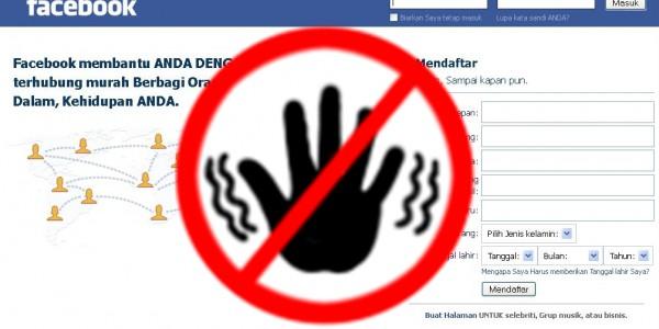 FB Diblokir Di Malaysia, Kapan Giliran Indonesia