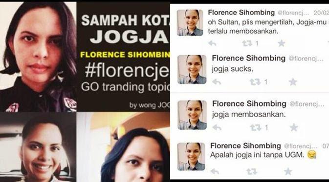 Gara-gara Path, Florence Sihombing Mahasiswi S2 UGM Dibully