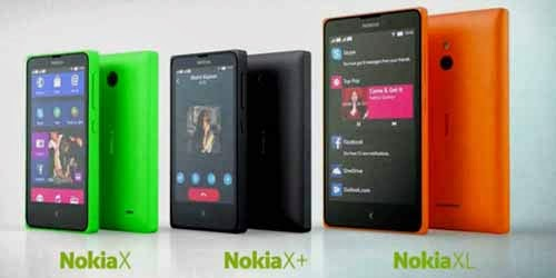 Harga Nokia XL, X dan X+ Pertengahan Agustus 2014
