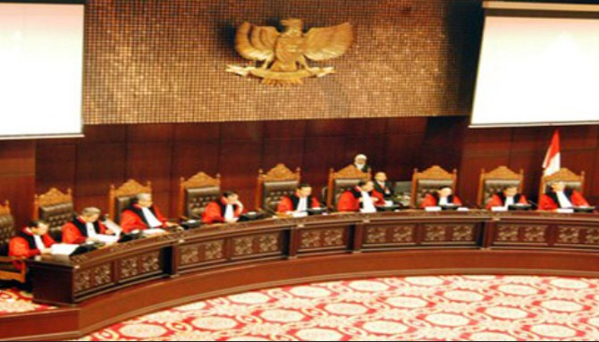 Inilah 9 Hakim Dalam Sidang Putusan Sengketa Pilpres Hari Ini