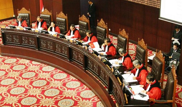 Mahkamah Konstitusi Batasi Tamu Sidang Putusan Sengketa Pilpres