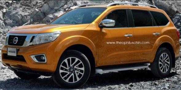 Nissan SUV Baru Berbasis Navara Akan Segera Meluncur