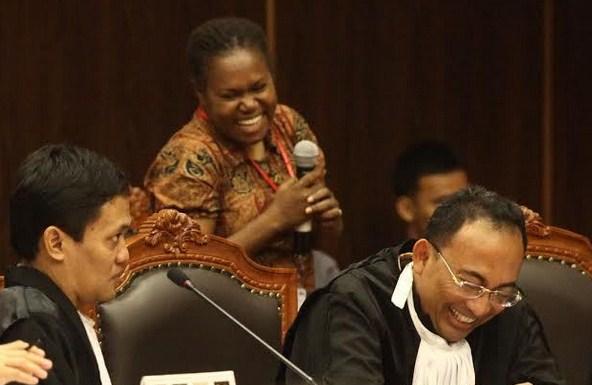 Saksi SIdang MK Novela Nawipa, Siapakah Dia