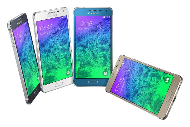 Samsung Galaxy Alpha Hands on