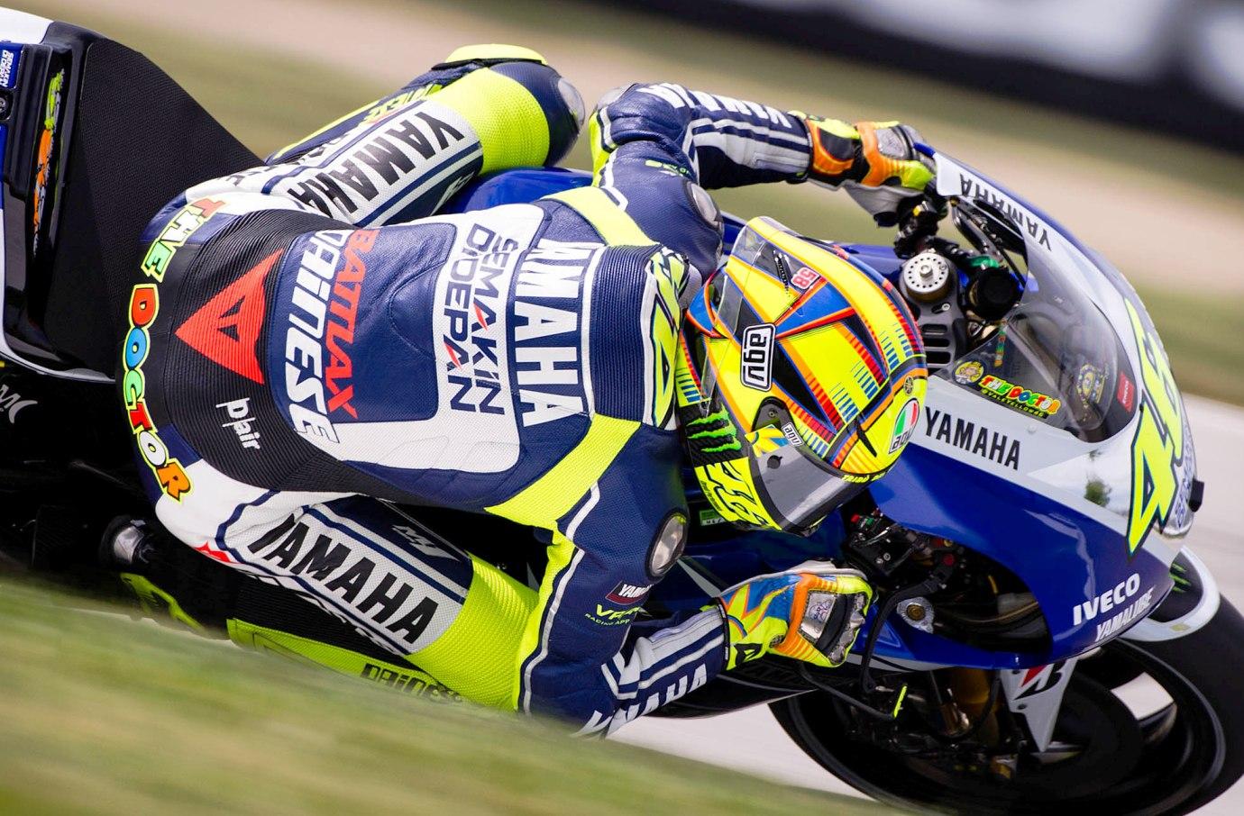 Hasil Latihan Bebas MotoGP Indianapolis 2014: Rossi Kuasai FP1