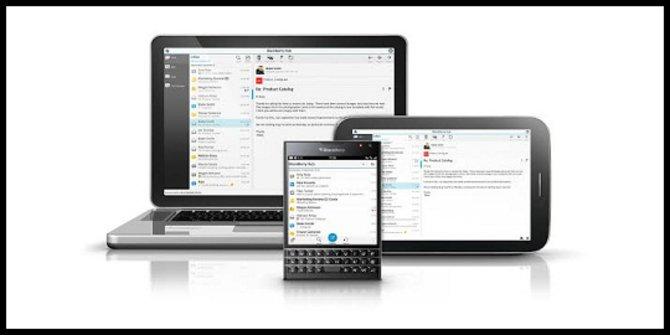 Blackberry Blend Aplikasi Untuk BBM dan SMS di PC