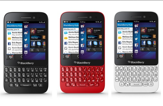 Harga BlackBerry Q5 Terbaru Akhir Bulan September 2014