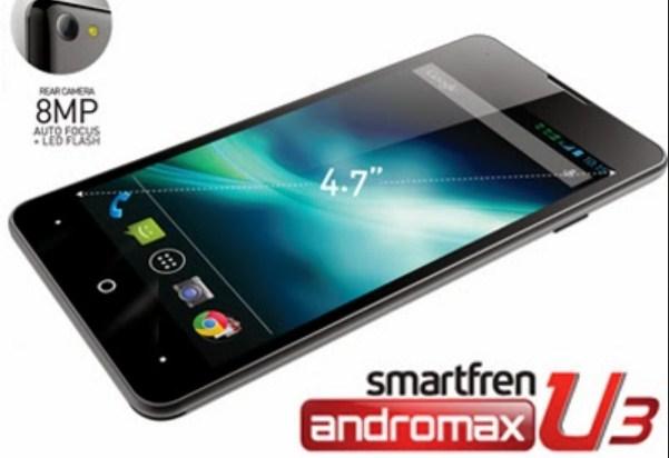 Harga Smartfren Andromax U3 Terbaru Pertengahan September 2014