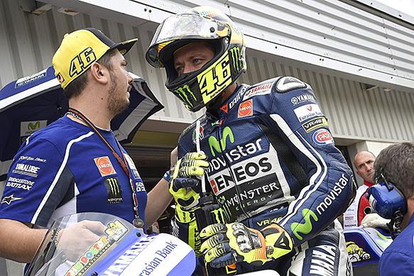 Kondisi terkini Valentino Rossi di Aragon