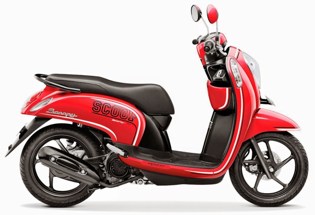 Harga Honda Scoopy FI Terbaru September 2014 Rp 15,2 Juta