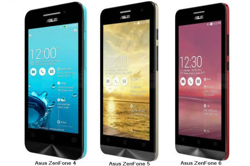 Update Android KitKat ASUS Zenfone