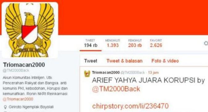 Admin TrioMacan2000 Ditangkap Polisi Karena Peras Pejabat Telkom