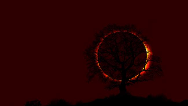 Bumi gelap gulita