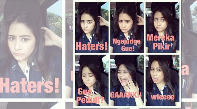 Foto Prilly Latuconsina terbaru untuk para Haters