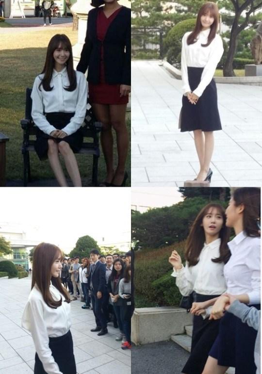 Foto Yoona SNSD saat Wisuda