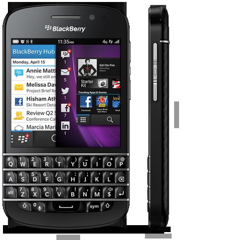 Harga Blackberry Q10 Baru Bekas Akhir Oktober 2014