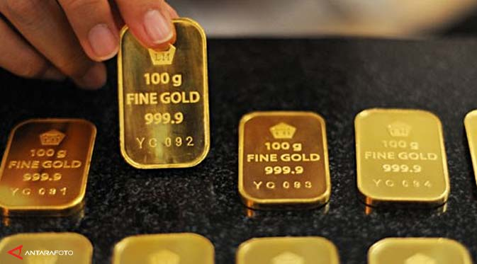 Harga Emas Antam Hari Ini 10 Oktober 2014 Naik