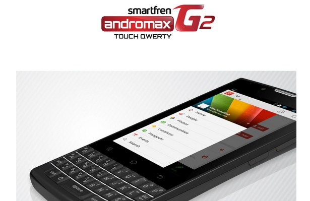Harga Smartfren Andromax G2 Touch Qwerty Terbaru Akhir Oktober 2014