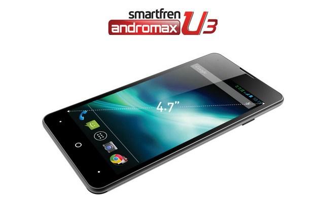 Harga Smartfren Andromax U3 Terbaru Awal Bulan Oktober 2014