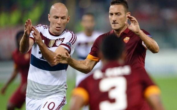 Hasil AS Roma vs Bayern Munich Liga champions malam tadi