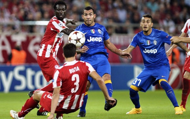 Hasil Olympiakos vs Juventus Liga champions malam tadi