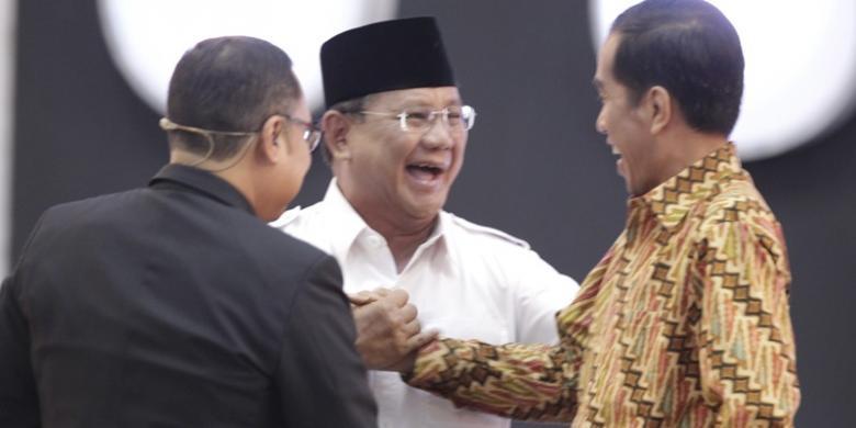 Isi Pertemuan Jokowi dan Prabowo hari ini