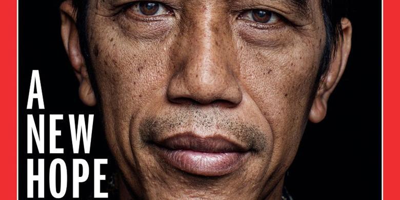 Jokowi Jadi Cover Majalah TIME Tanggal 27 Oktober
