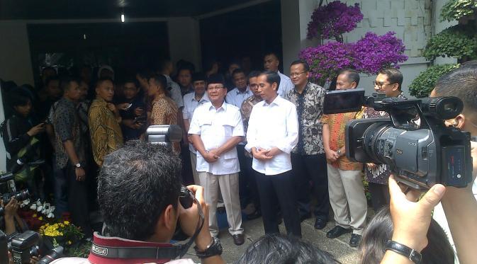 Jokowi Ketemu Prabowo Gerindra Dukung Presiden Terpilih