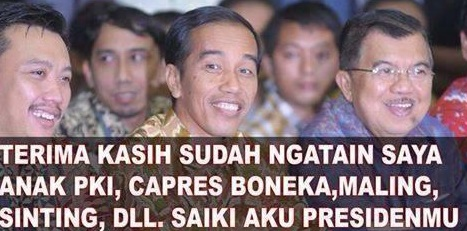 Ini Gambar Penghinaan Jokowi yang Heboh di Facebook