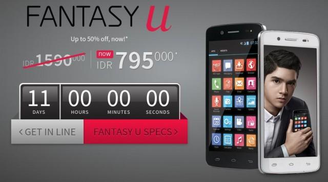 Mito Fantasy U A60 Ponsel Android Murah Fitur Wah