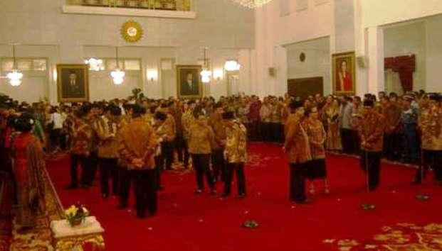 Pelantikan Kabinet Jokowi-JK