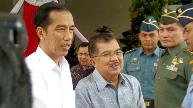 Pengumuman Susunan Kabinet Jokowi JK
