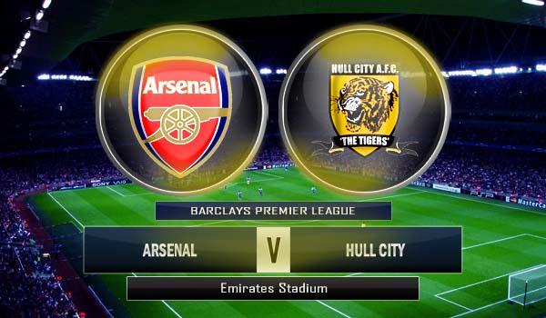 Prediksi Prediksi Arsenal vs Hull City