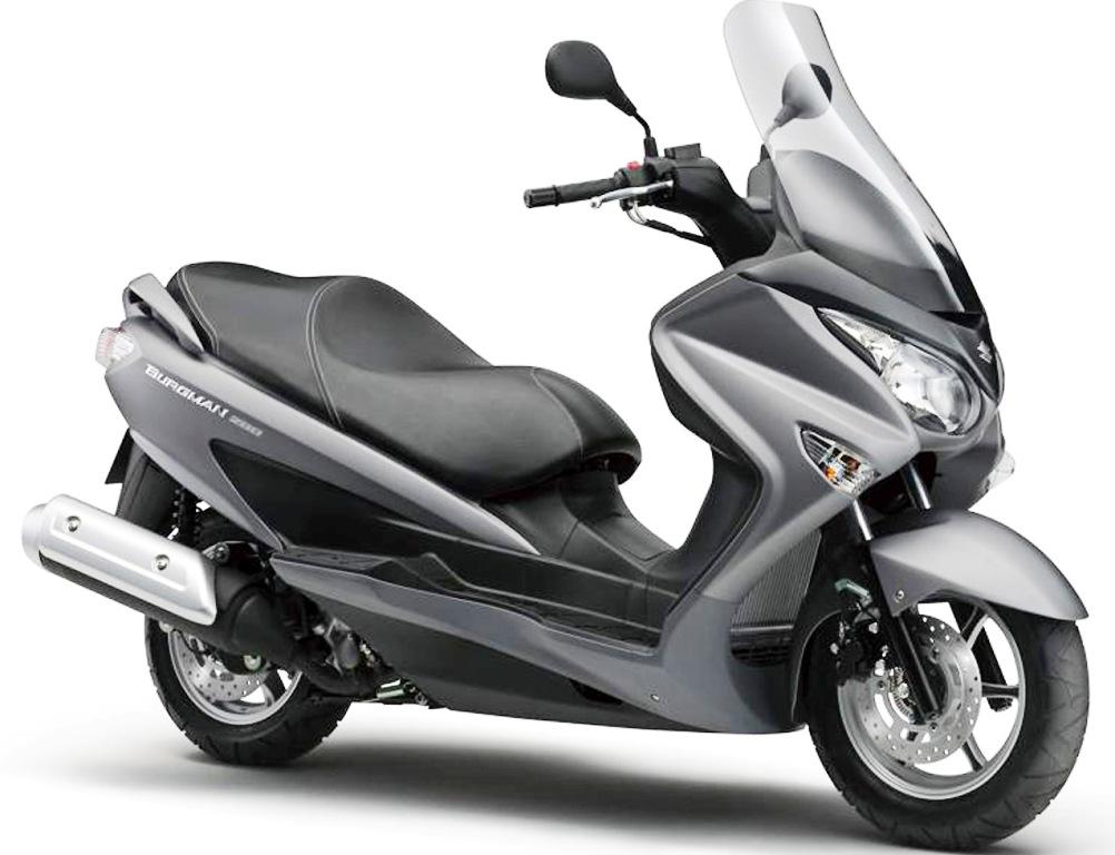 Spesifikasi dan Harga Suzuki Matic Burgman 200 Terbaru Oktober 2014