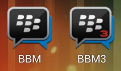 BBM 3, 2 Blackberry ID dalam Satu Smartphone