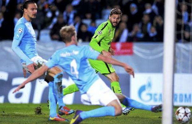 Hasil Malmo vs Juventus Liga champions 27 November 2014