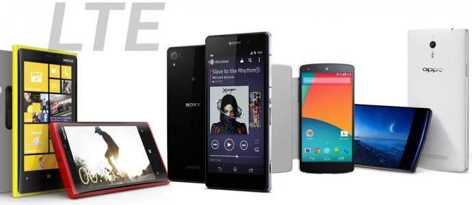 Smartphone 4G LTE
