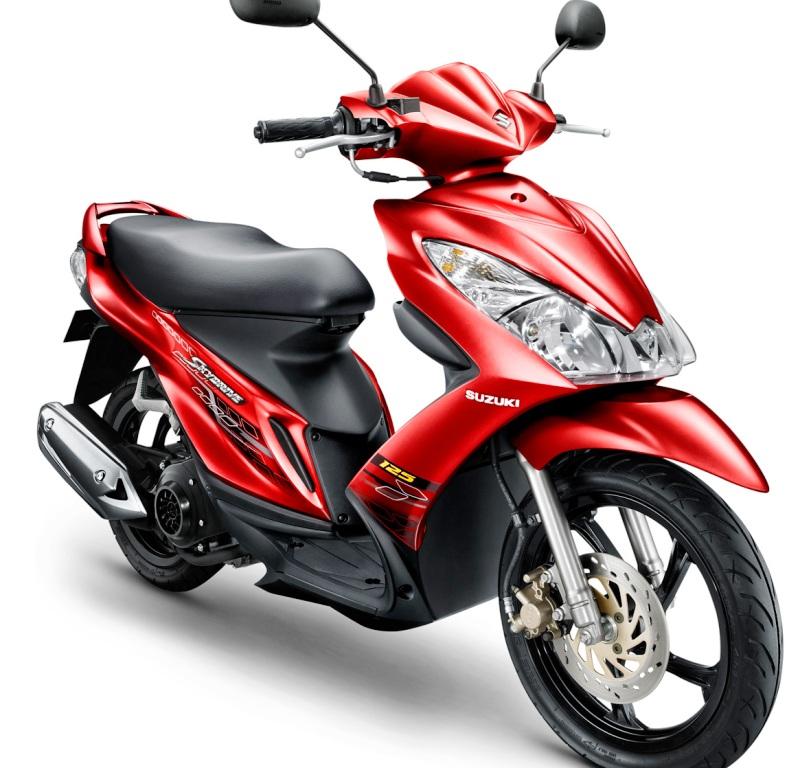 Harga Suzuki Skydrive Terbaru Desember 2014, Mesin 125 cc 1 silinder SOHC