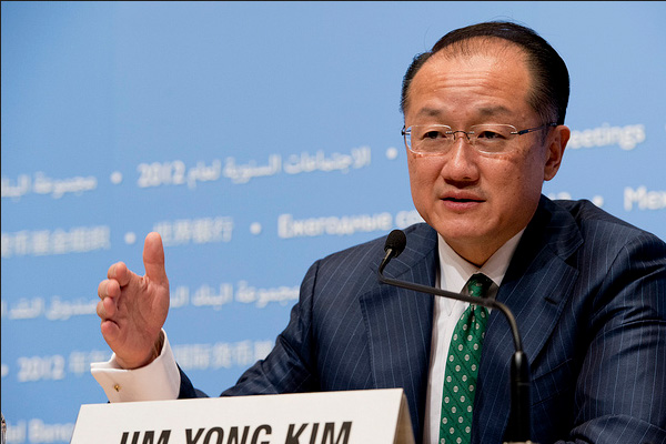 Presiden Bank Dunia Jim Yong Kim