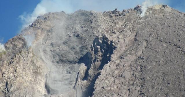 Foto Kawah Merapi