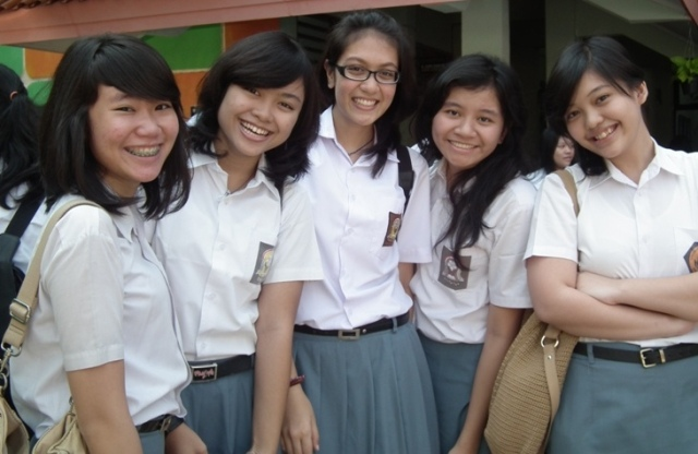 Siswi SMA Jakarta